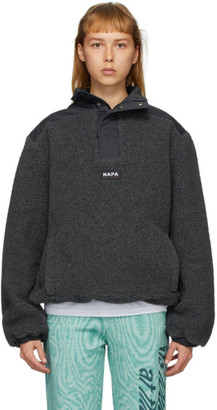 Martine Rose Grey T-Crantock Fleece Zip Pullover