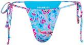 Thumbnail for your product : Frankie's Bikinis Tia Side-Tie Bikini Bottoms
