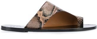ATP ATELIER Rosa cut-out sandals