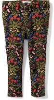 Old Navy Floral Ponte-Knit Skinny Pants for Toddler