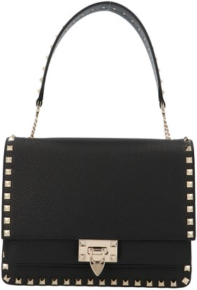 Valentino Rockstud Top Handle Shoulder Bag