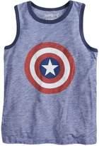 "Boys 4-10 Jumping Beans Marvel Captain America Shield & ""Hero"" Tank Top"