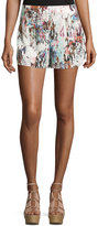 French Connection Printed Pull-On Shorts, Day Dream/Multi