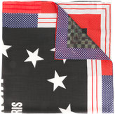 Givenchy star printed scarf - men - Silk/Cashmere/Virgin Wool - One Size