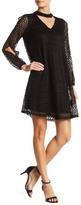 Robbie Bee V-Neck Knit Dress