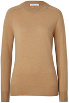Chloé Sandalwood Cashmere Crew Neck Pullover