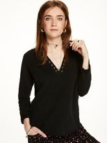 Scotch & Soda Eyelet Neckline Sweater
