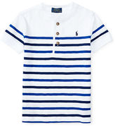 Ralph Lauren Boys 8-20 Boy's Striped Cotton Henley Tee