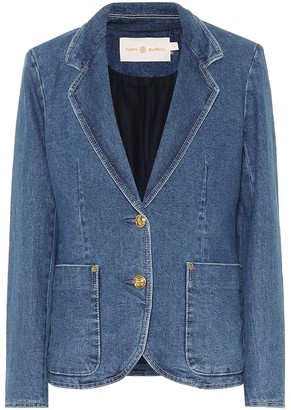 Tory Burch Stretch-denim blazer