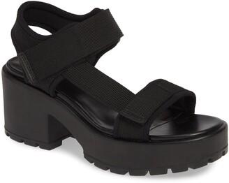 Vagabond Shoemakers Dioon Webbing Platform Sandal