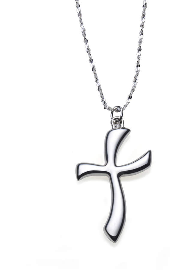 Gorham Sterling Cross Pendant Necklace