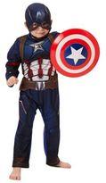 Character Marvel Captain America Dress-Up Costume, Kids Unisex