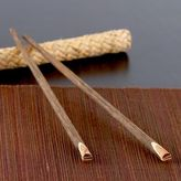 Chopsticks with Rattan Holder