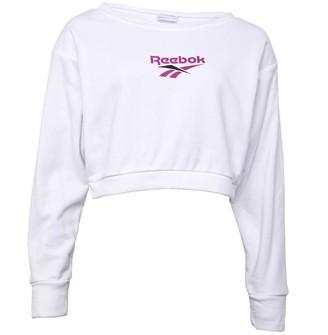 Reebok Classics Womens Vector Crew Sweatshirt White