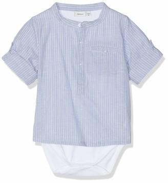 Name It Baby Boys' NBMFABIAN Shirt Body Footies