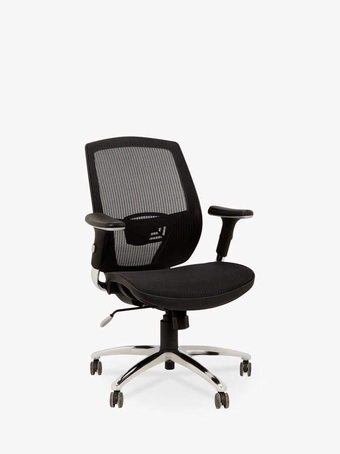 John Lewis & Partners Murray Ergonomic Office Chair, Black