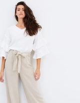 Moon River Frilled Up Top