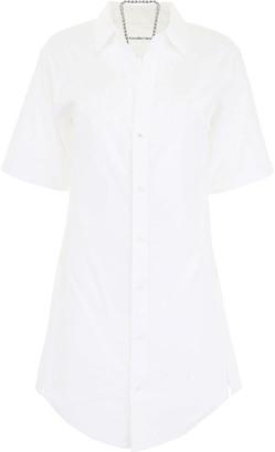 Alexander Wang Cotton Shirt With Chain