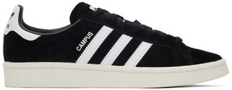 adidas Black Nubuck Campus Sneakers