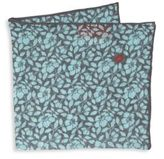 Isaia Floral Pocket Square