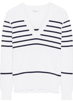 Sonia Rykiel Striped Knitted Sweater