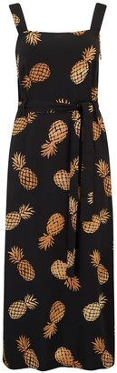 Sugarhill Brighton Elva Pineapple Batik Midi Slip Dress