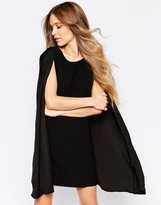Liquorish Cape Dress