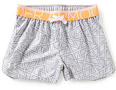 Under Armour Big Girls 7-14 Printed Play Up Shorts