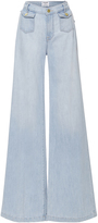 Frame High Rise Soho Wide Leg Denim Trousers