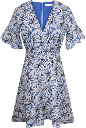 Jonathan Simkhai Zoey Floral Linen Blend Dress