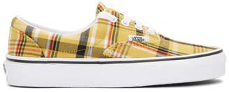 Vans Yellow Plaid Era Sneakers