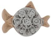 Kismet By Milka 14kt rose gold Pisces diamond stud earring