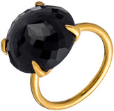 Heather Hawkins Radiate Gemstone Ring - Black Spinel