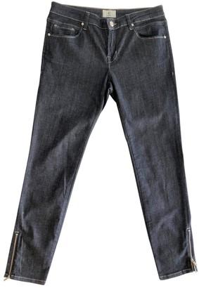 Cerruti Navy Cotton - elasthane Jeans for Women
