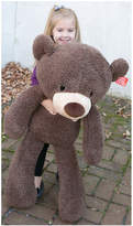 Gund Fuzzy Bear Chocolate Jumbo