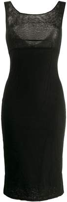 Dolce & Gabbana Pre-Owned 1990's fitted midi dress