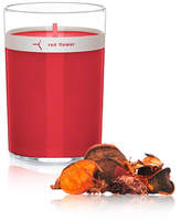 Red Flower Candle with Petals - Italian Blood Orange