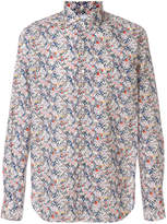 Xacus floral print long sleeve shirt