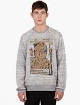 Marc Jacobs X Bäst Grey Cotton Printed Sweatshirt