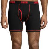 Puma 3-pk. Cotton Comfort Boxer Briefs
