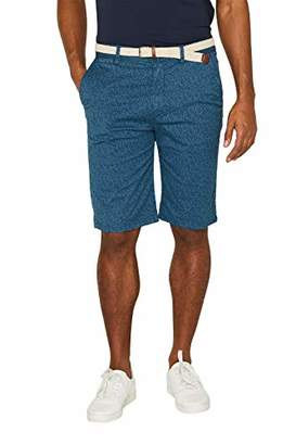 Esprit Men's 059ee2c004 Short, (Petrol Blue 450), 24 (Size: )