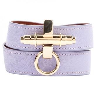 Givenchy Obsedia Purple Leather Bracelets