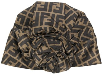 Fendi FF motif turban