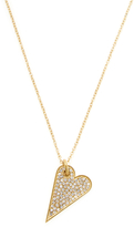 Rebecca Minkoff Pave Heart Pendant Necklace