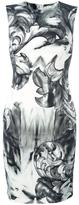 Versace printed fitted dress - women - Polyester/Spandex/Elastane/Viscose - 42