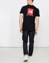 The North Face Black Label Short Sleeve Red Box T-Shirt Black