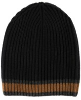 Dolce & Gabbana striped knitted hat