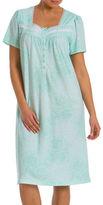 Jasmine Rose Plus Floral Printed Nightgown