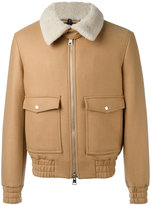 Ami Alexandre Mattiussi zipped jacket - men - Virgin Wool/Polyimide - XS