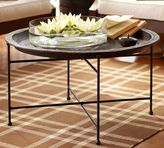 Pottery Barn Moroccan Tray Table